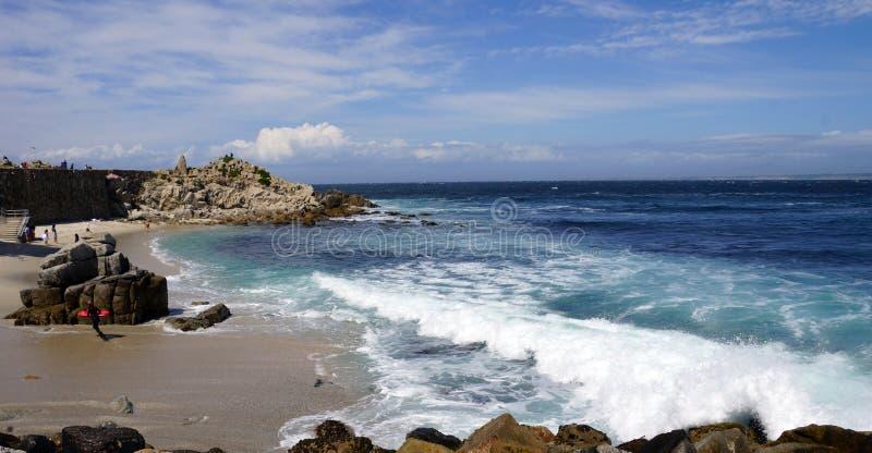 加利福尼亚海岸线 库存图片
