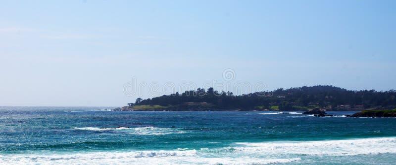 加利福尼亚海岸线 免版税库存图片