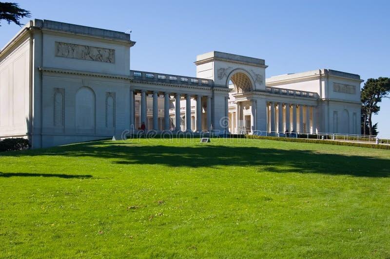 加利福尼亚荣誉称号军队宫殿 库存照片