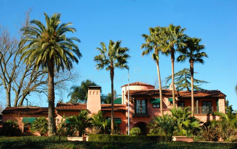 加利福尼亚豪宅 库存图片