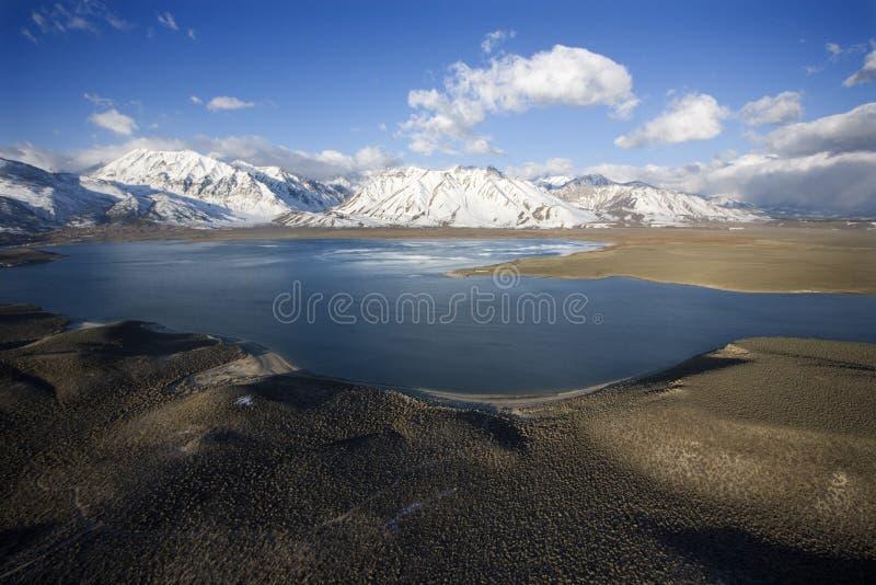 加利福尼亚crowley湖 库存照片