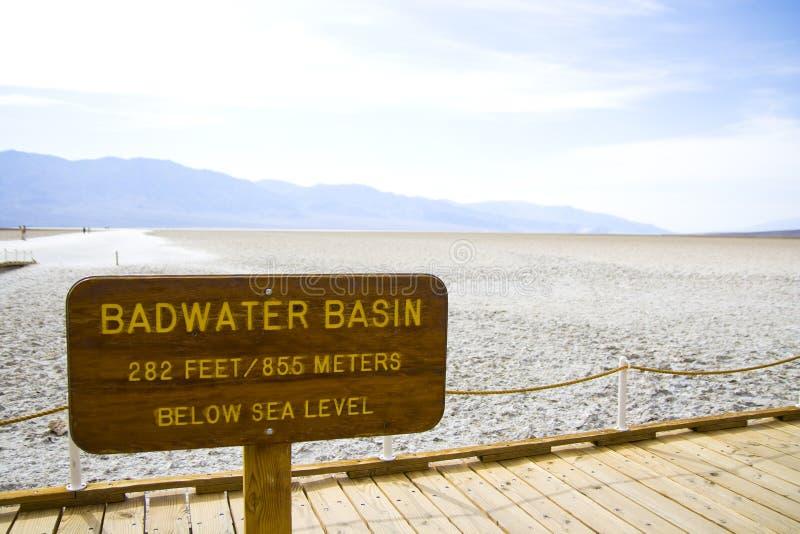 加利福尼亚Death Valley 图库摄影