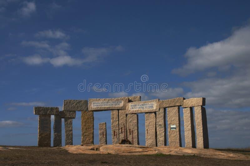 加利西亚石头 免版税库存图片