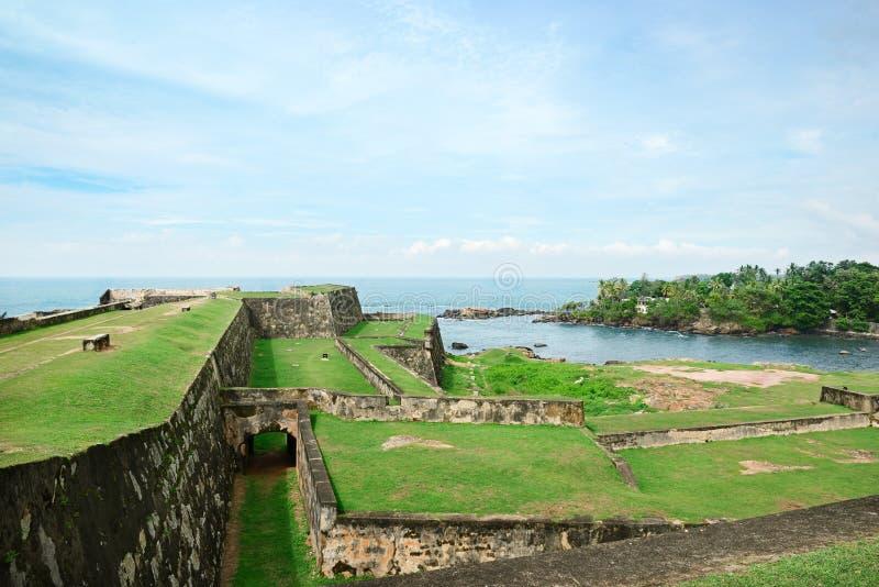 加勒堡垒,斯里兰卡 免版税库存照片