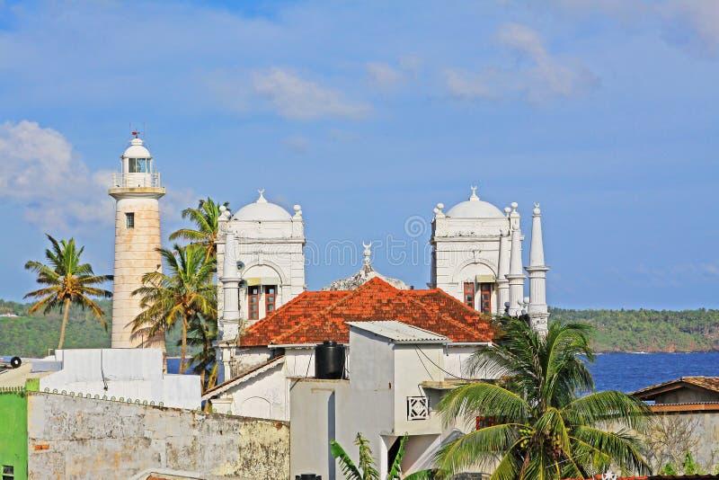 加勒堡垒-斯里兰卡联合国科教文组织世界遗产名录 图库摄影