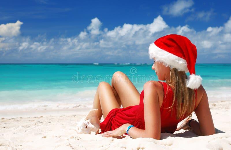加勒比圣诞节 免版税库存照片