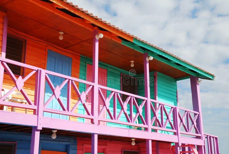 加勒比外部 免版税库存图片