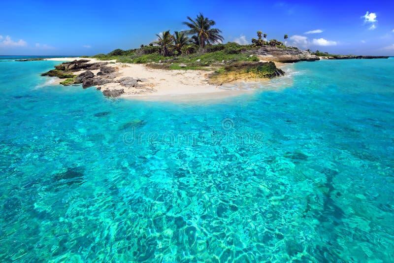 加勒比岛 库存图片