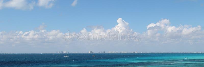 加勒比海景 库存图片