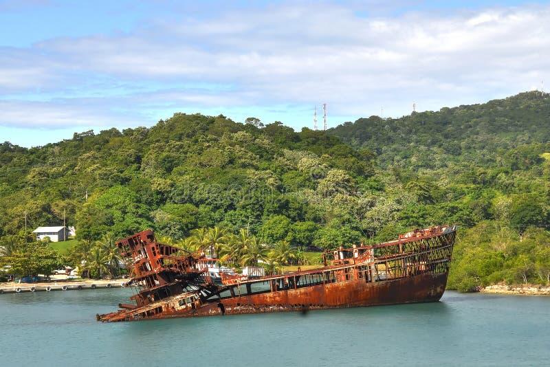 加勒比海难 免版税库存照片