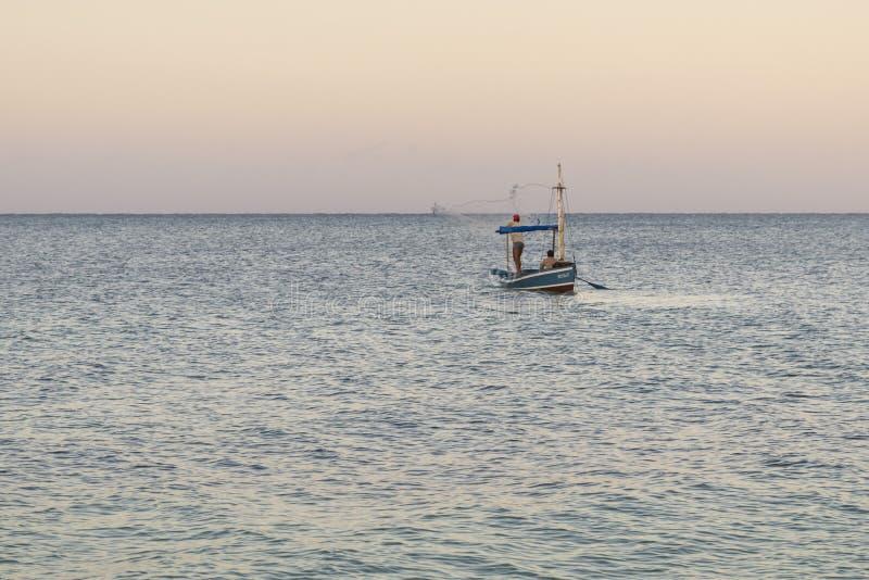 加勒比渔 免版税库存图片