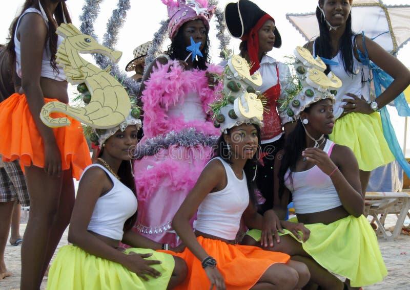 加勒比狂欢节 库存图片