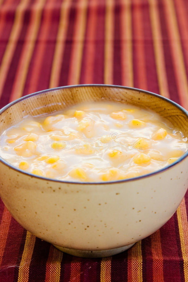 加勒比玉米粥样式 库存图片
