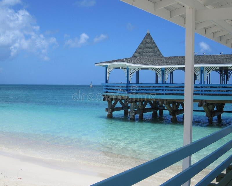 加勒比生活 免版税库存图片