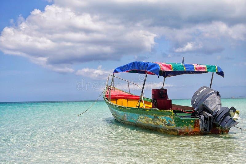 加勒比逃命 图库摄影