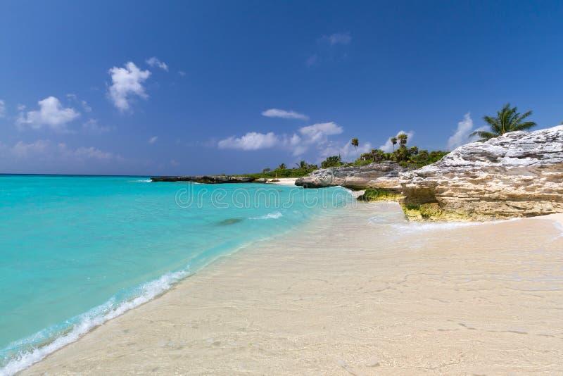 加勒比风景海运 库存照片
