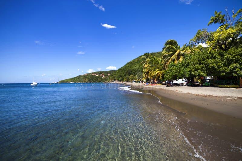 加勒比, Guadaloupe海岛 库存图片