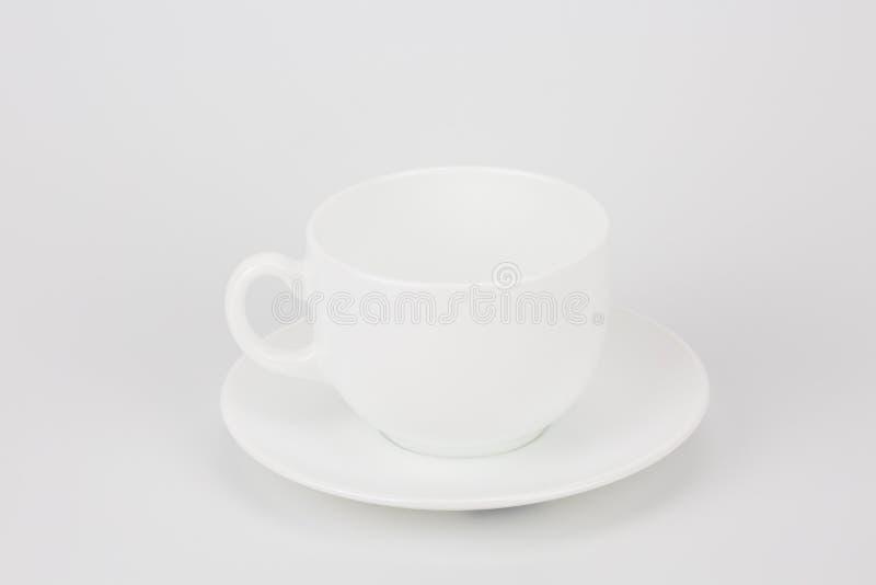 加奶咖啡杯子集合 免版税库存图片