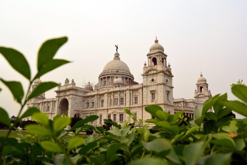 加尔各答地标的维多利亚纪念博物馆 库存照片