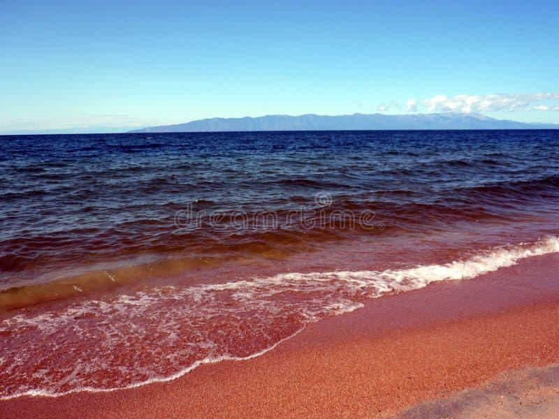贝加尔湖湖岸  库存照片