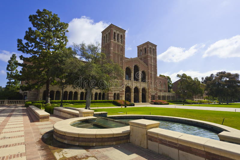 加州大学洛杉矶分校 图库摄影