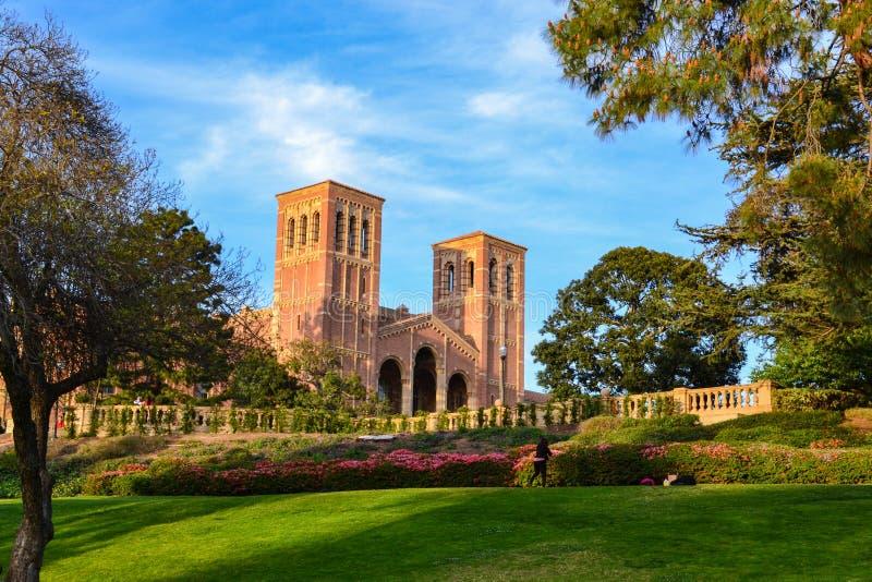 加州大学洛杉矶分校校园 库存照片