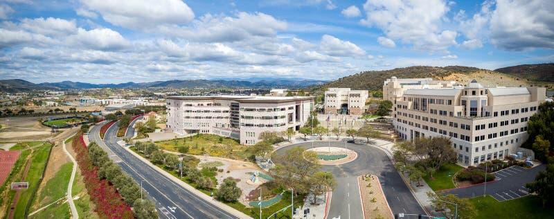 加州州立大学,圣马科斯 免版税库存图片