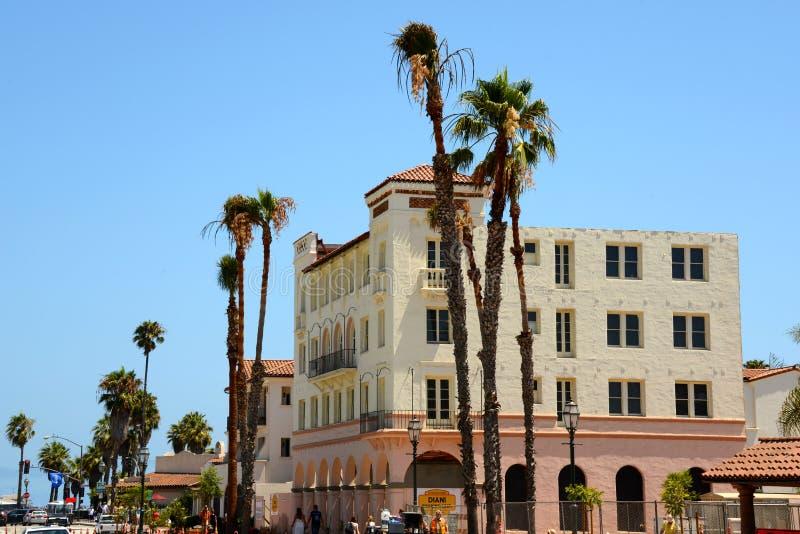 加州旅馆 库存照片