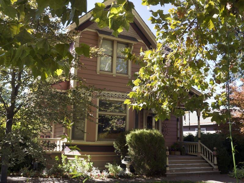 加州有历史的房子jose ・圣 库存照片