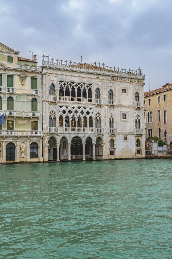 加州Doro宫殿,威尼斯,意大利 免版税图库摄影
