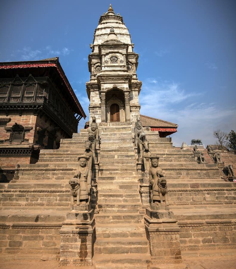 加德满都的Durbar广场在尼泊尔 库存图片