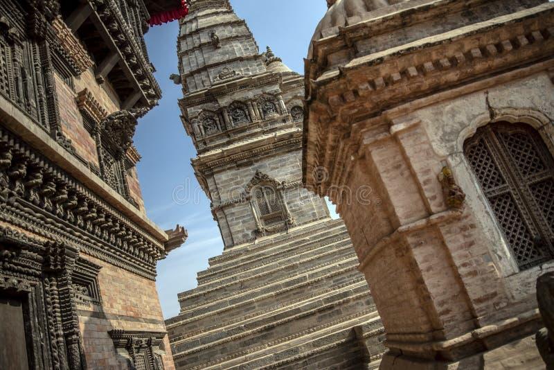 加德满都的Durbar广场在尼泊尔 库存照片