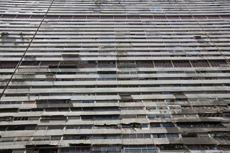 加拉加斯居民住房街市  免版税库存照片