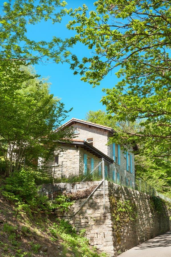加拿大乡间别墅街道多伦多 免版税库存图片