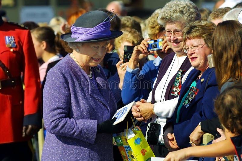 加拿大伊丽莎白ii女王/王后苏克塞斯 库存照片