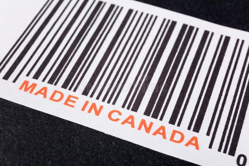 加拿大做 免版税图库摄影