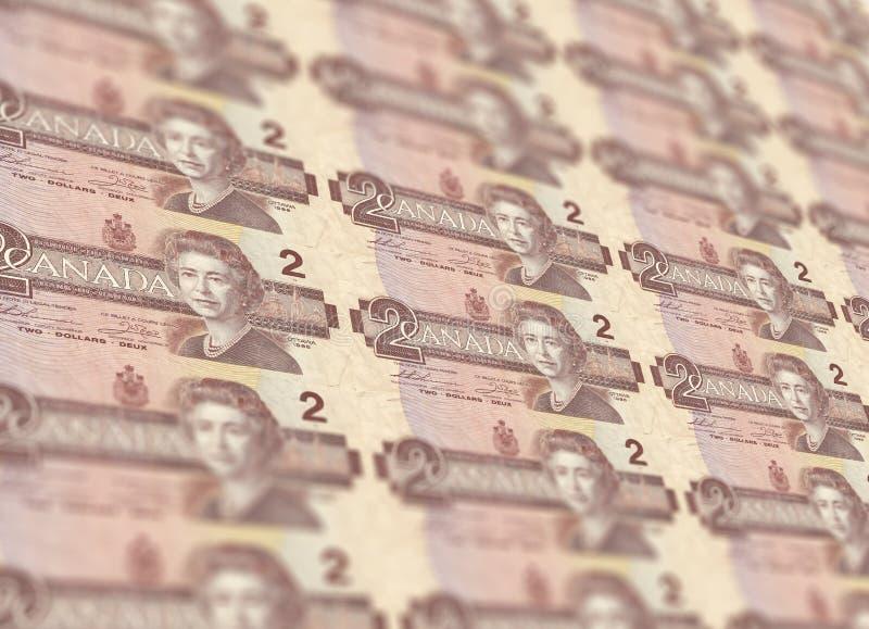 加拿大元 库存图片