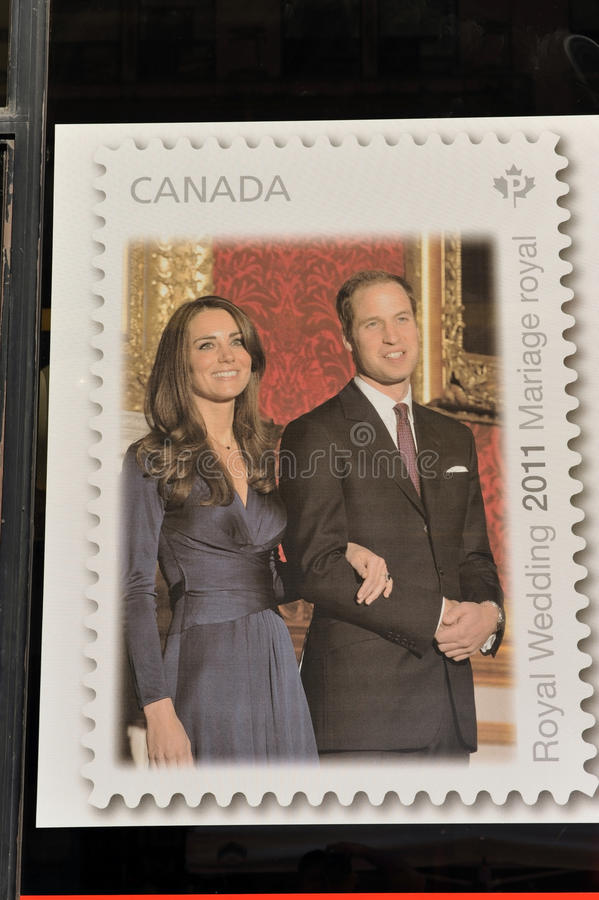 加拿大办公室过帐海报印花税视窗 库存图片