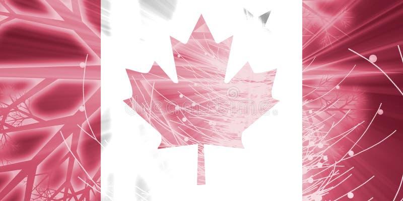 加拿大圣诞节标志节假日 库存例证