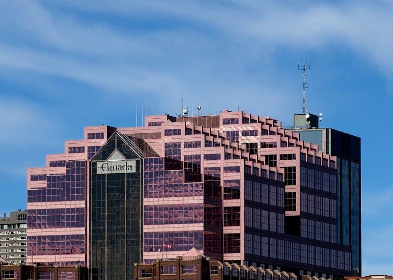 加拿大地方大厦在埃德蒙顿亚伯大 免版税库存图片