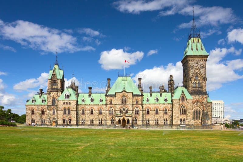 加拿大小山渥太华议会 免版税库存图片