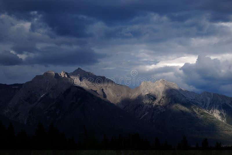 加拿大峰顶 库存图片
