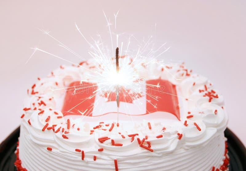 加拿大庆祝日 免版税库存照片