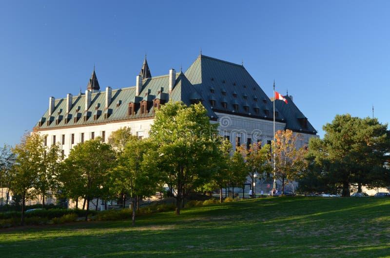 加拿大最高法院 库存图片
