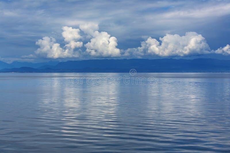 加拿大海景 免版税图库摄影