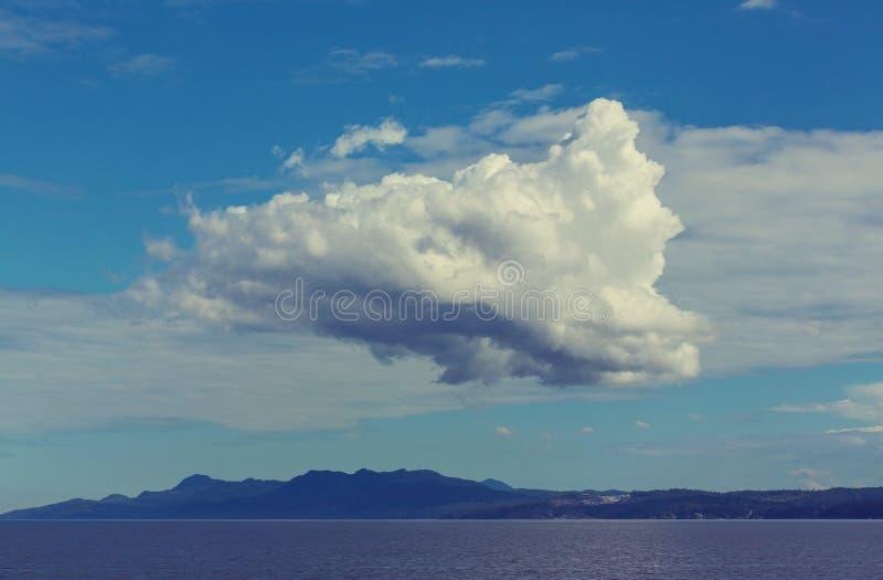 加拿大海景 图库摄影