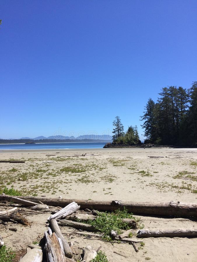 加拿大海滩 免版税库存图片