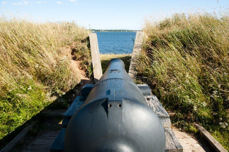 加拿大王子爱德华Battery -夏洛特敦- 免版税图库摄影