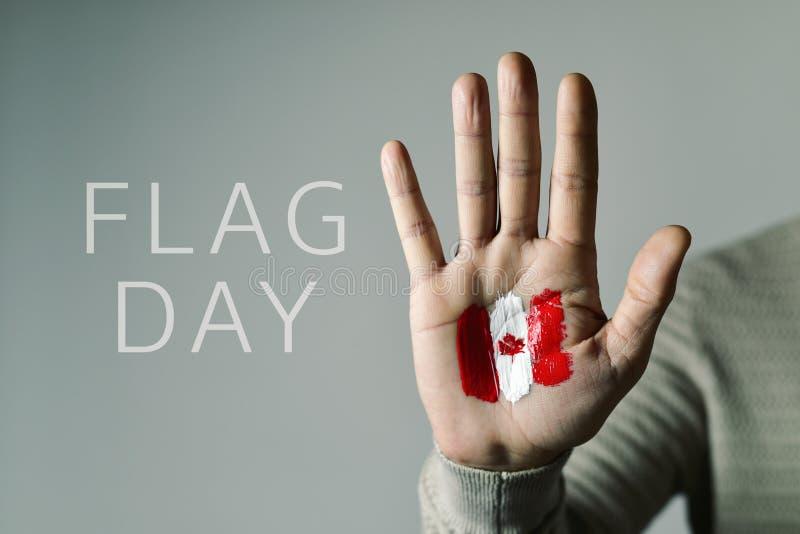 加拿大的国旗纪念日 库存照片