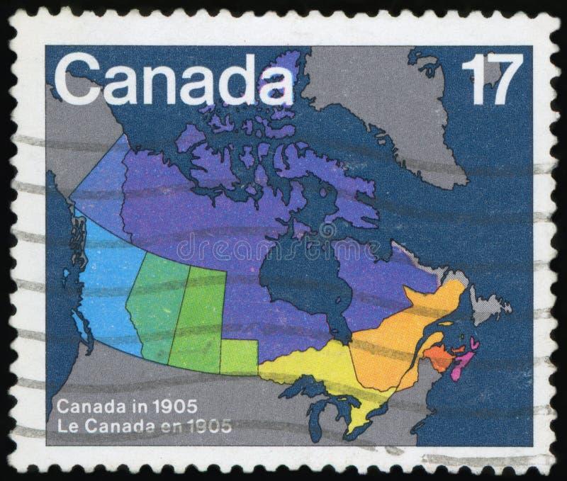 加拿大的邮票 免版税图库摄影
